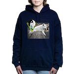 WMC Balance Front Women's Hooded Sweatshirt