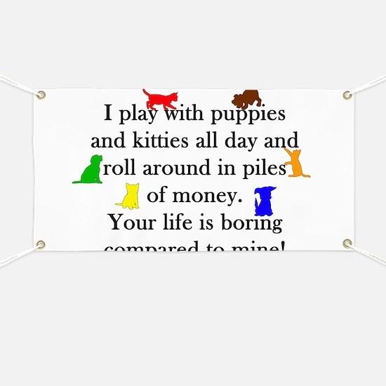 Veterinary Puppies and Kitties Banner