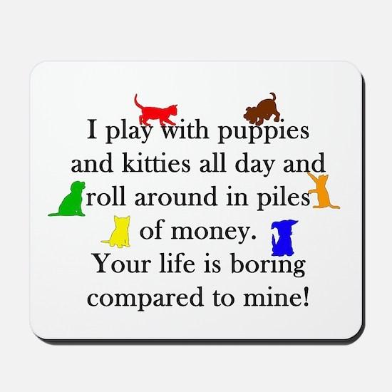 Veterinary Puppies and Kitties Mousepad