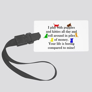 Veterinary Puppies and Kitties Luggage Tag