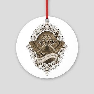 Magna Scientia Ornament (round)