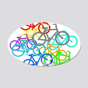 Bicycles Wall Decal