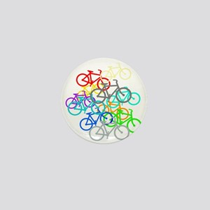 Bicycles Mini Button