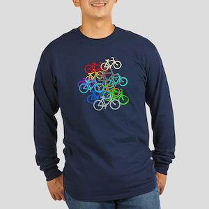 Bicycles Long Sleeve T-Shirt