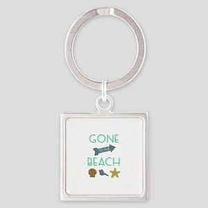 Gone To Beach Keychains