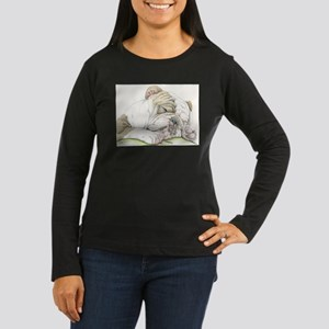 Sleepy English Bulldog Long Sleeve T-Shirt