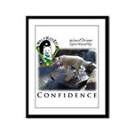 WMC Confidence Front Framed Panel Print