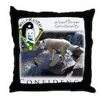 WMC Confidence Front Throw Pillow