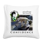 WMC Confidence Front Square Canvas Pillow