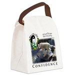 WMC Confidence Front Canvas Lunch Bag