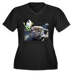 WMC Confidence Front Plus Size T-Shirt