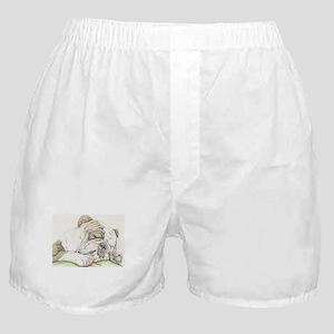Sleepy English Bulldog Boxer Shorts