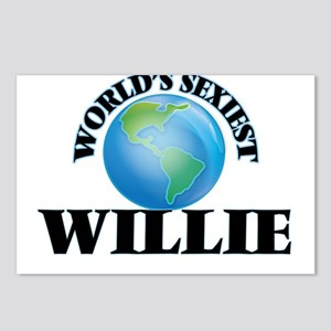 World's Sexiest Willie Postcards (Package of 8)