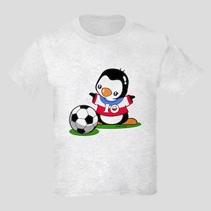 Soccer Penguin Kids Light T-Shirt