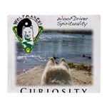 WMC Curiosity Front Throw Blanket