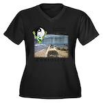 WMC Curiosity Front Plus Size T-Shirt