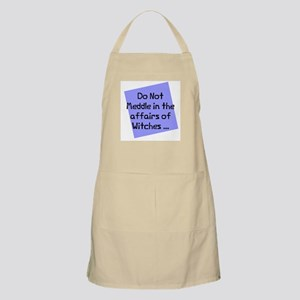 Meddle witches affairs BBQ Apron