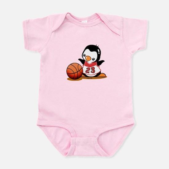Basketball Penguin Infant Bodysuit