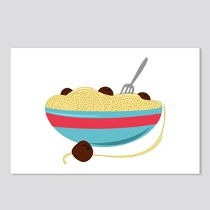 Spaghetti Bowl Postcards (Package of 8)