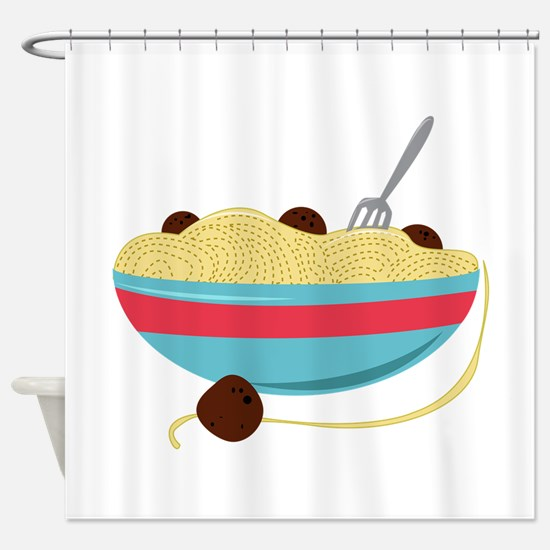 Spaghetti Bowl Shower Curtain