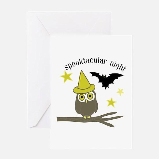 Spooktacular Night Greeting Cards