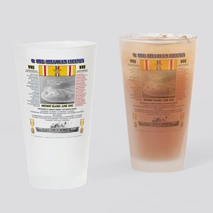 BATTLE OF MIDWAY CAMPAIGN WORLD WAR Drinking Glass