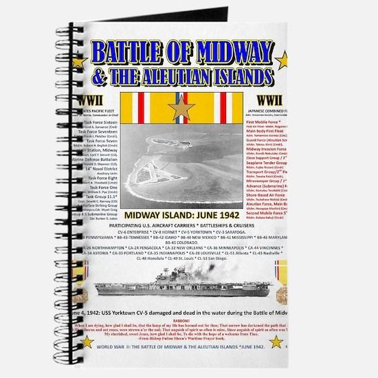 BATTLE OF MIDWAY CAMPAIGN WORLD WAR II & A Journal