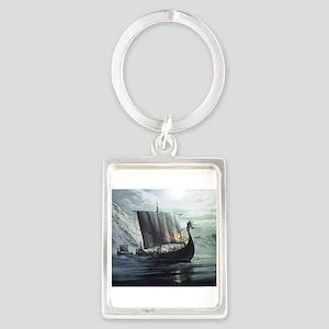 viking ship Keychains
