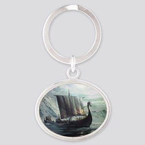 viking ship Keychains