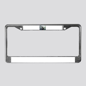 viking ship License Plate Frame