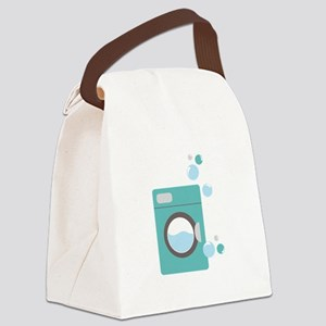 Washing Machine Canvas Lunch Bag