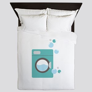 Washing Machine Queen Duvet