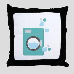 Washing Machine Throw Pillow