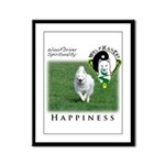 WMC Happiness Front Framed Panel Print