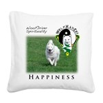 WMC Happiness Front Square Canvas Pillow