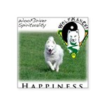 WMC Happiness Front Sticker