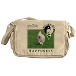 WMC Happiness Front Messenger Bag