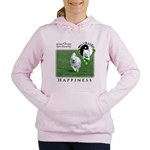 WMC Happiness Front Women's Hooded Sweatshirt