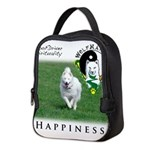 WMC Happiness Front Neoprene Lunch Bag