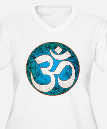 Pause and listen for the ohm Plus Size T-Shirt