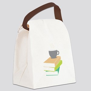 Coffee & Books Canvas Lunch Bag