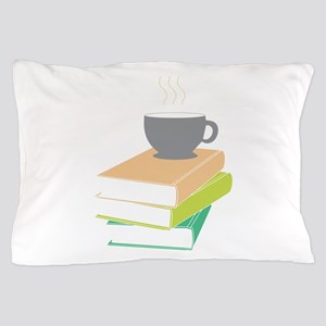 Coffee & Books Pillow Case