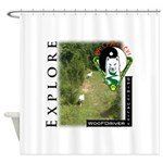WMC Explore Front Shower Curtain
