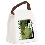WMC Explore Front Canvas Lunch Bag