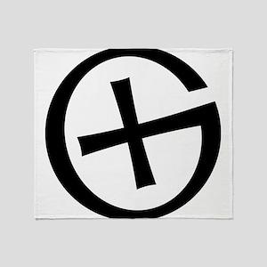 Geocaching symbol Throw Blanket
