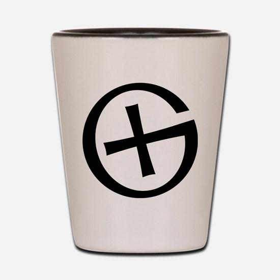 Geocaching symbol Shot Glass