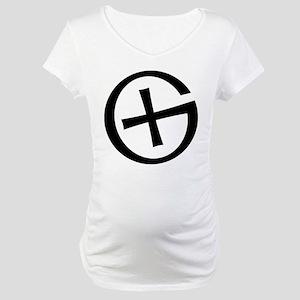 Geocaching symbol Maternity T-Shirt