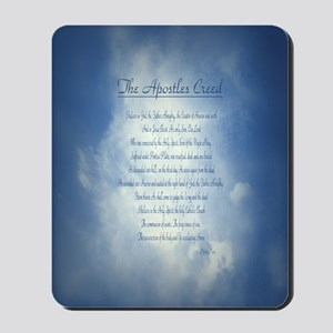 Apostles Creed Cyanotype Mousepad
