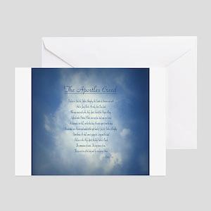 Apostles Creed Cyanotype Greeting Cards (Pk of 10)