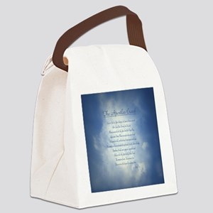 Apostles Creed Cyanotype Canvas Lunch Bag